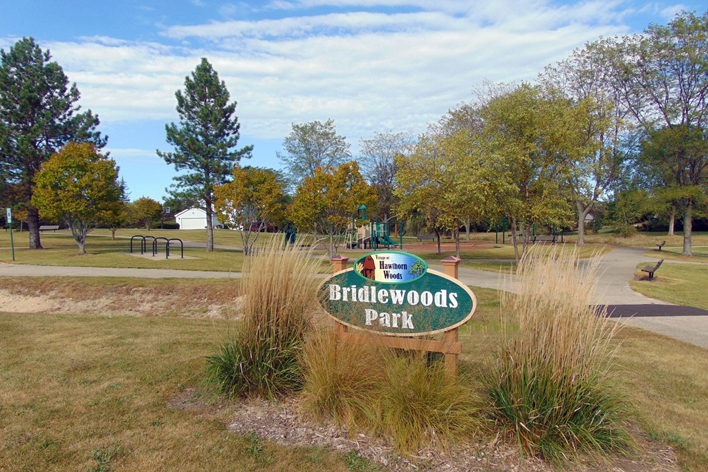 Bridlewoods Park Sign