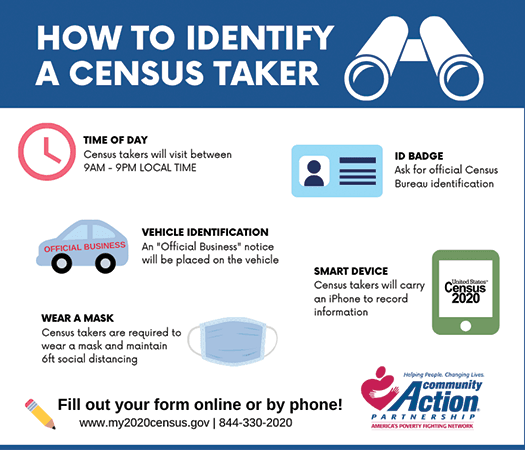 How to identify a census taker