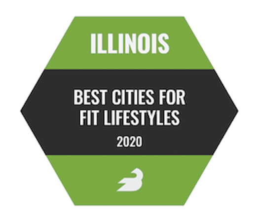 Illinois Best Cities for Fit Lifestyles 2020