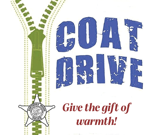 Coat Drive Give the gift of warmth